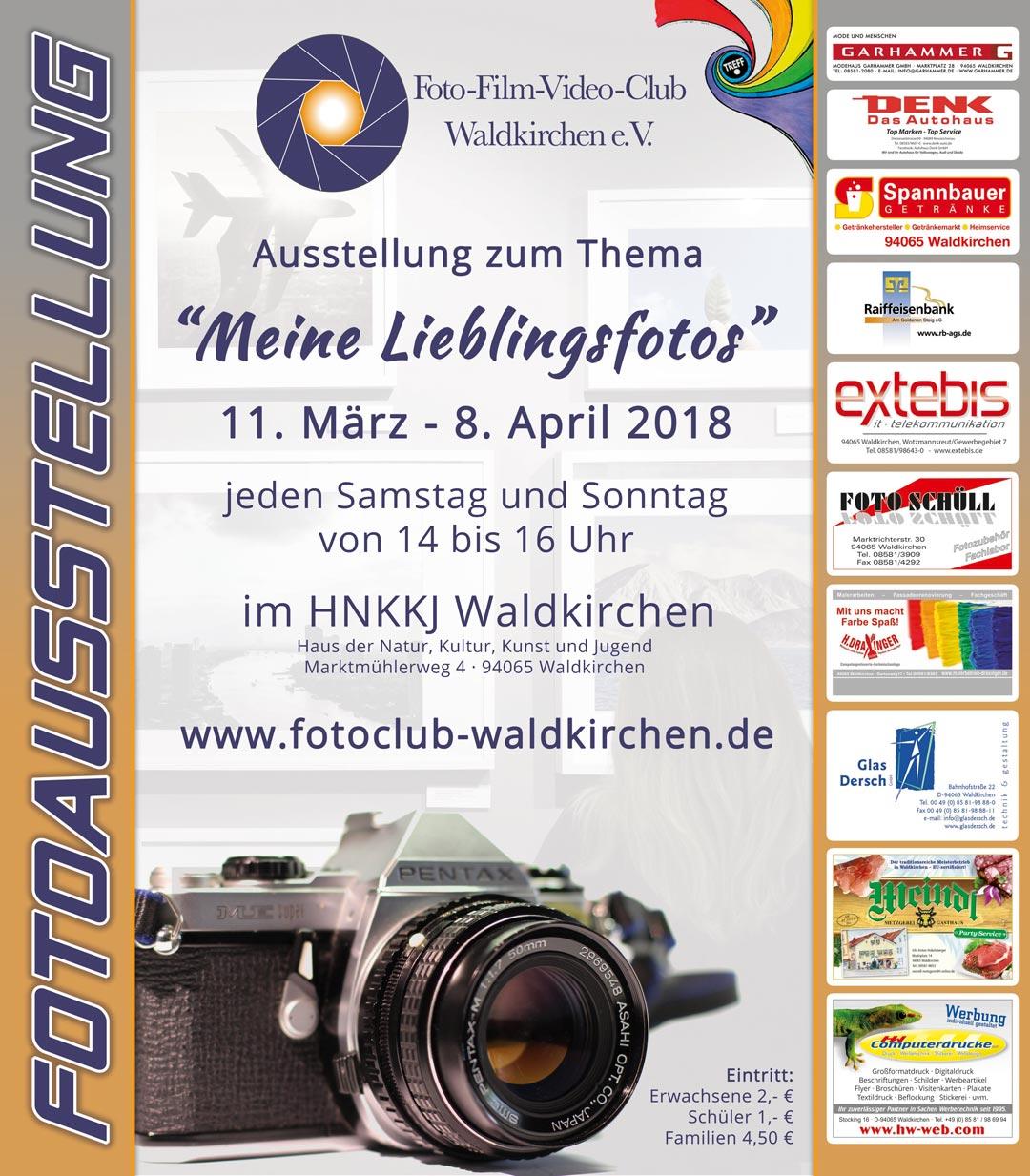 Fotoausstellung Fotoclub Waldkirchen 2018