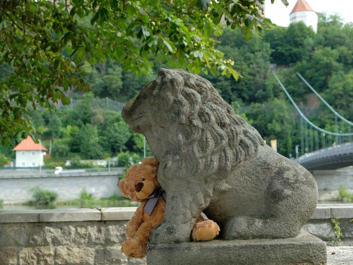Platz 2 des Fotowettbewerbs_Motive aus Passau_ Blick vom Romerplatz auf die Donau