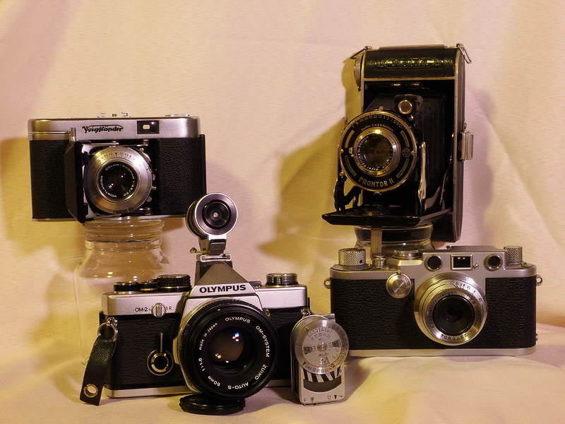 Galerie Späth-Pleyer: Alte Kameras
